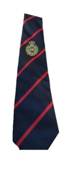 RE Regimental Embroidered Ties